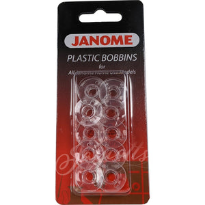 Janome Sewing Machine Bobbins | Pack of 10 from Jaycotts Sewing Supplies