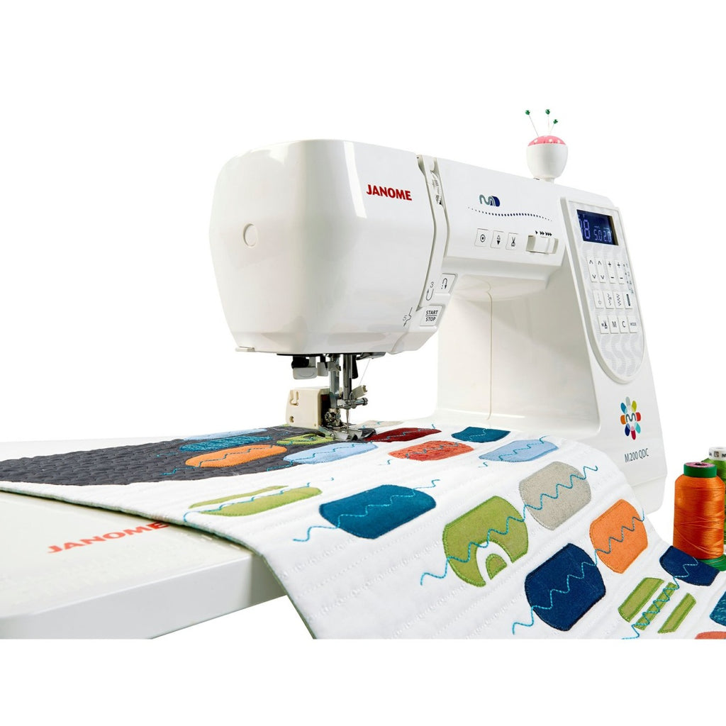 Janome Sewing Machine | M200 QDC from Jaycotts Sewing Supplies