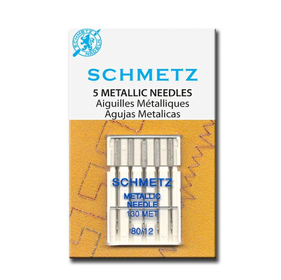 Metallic Machine Needles | Pack of 5 from Jaycotts Sewing Supplies