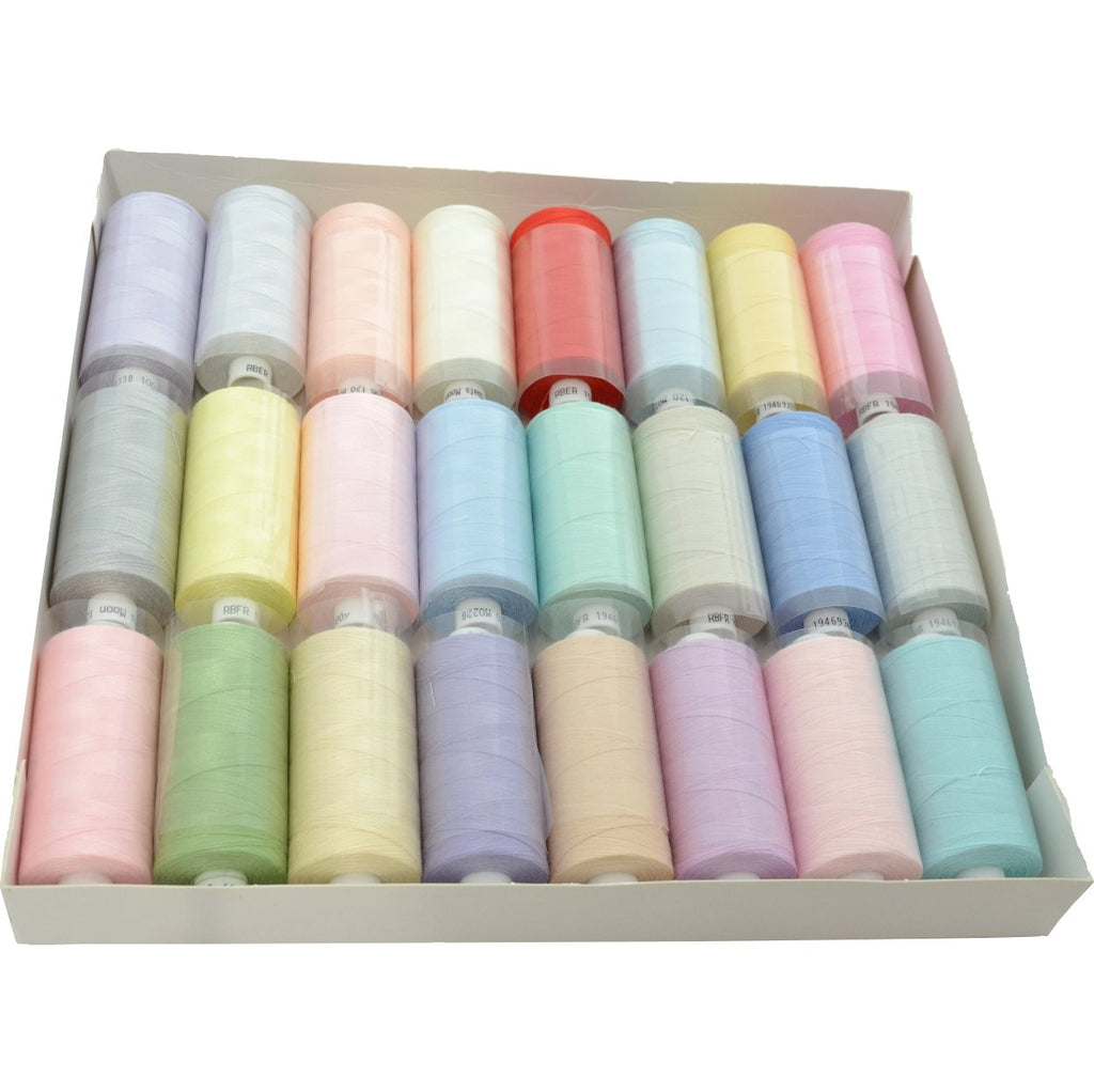Moon Sewing Thread Value Pack - pastel