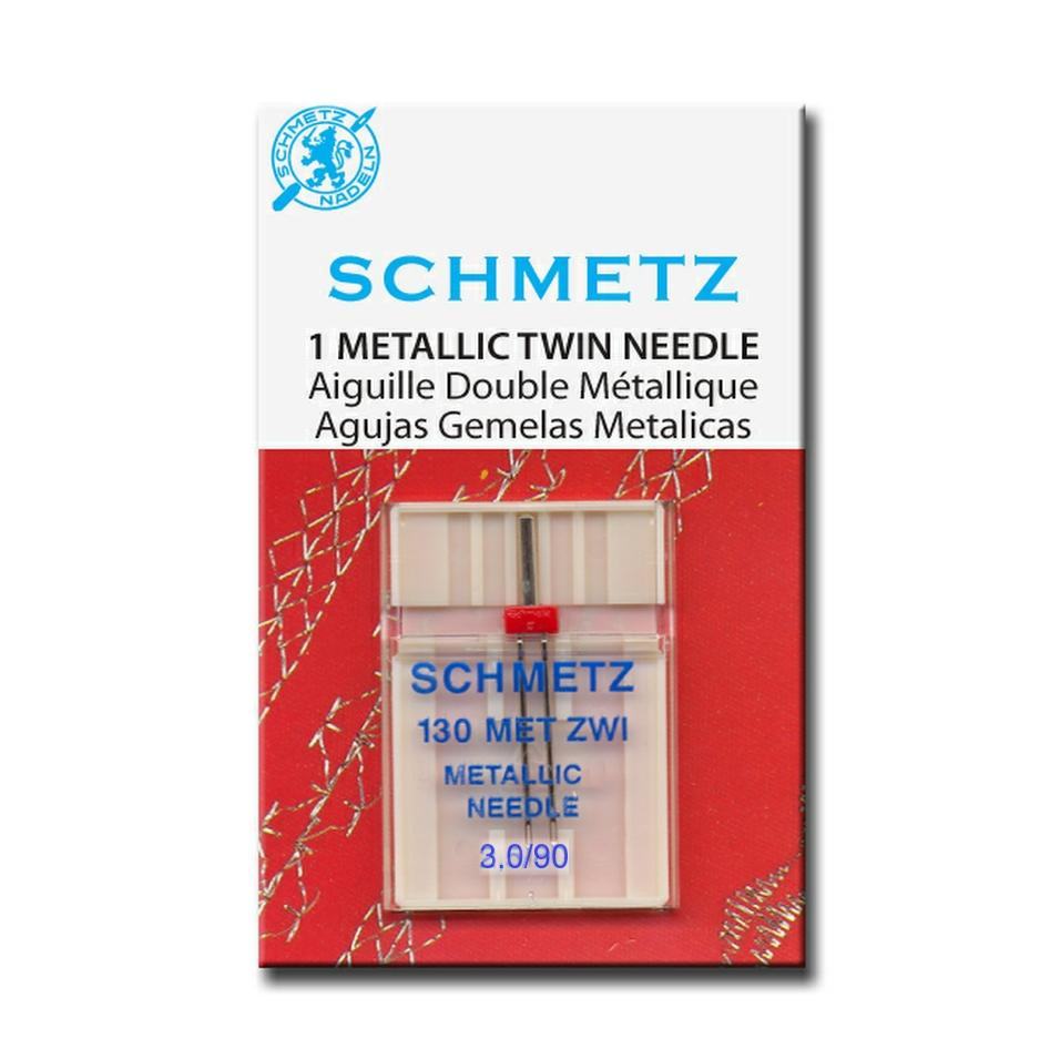 Schmetz Metallic Twin Needle from Jaycotts Sewing Supplies