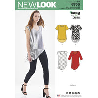 NL6556 Women's Easy Knit Tops Pattern from Jaycotts Sewing Supplies