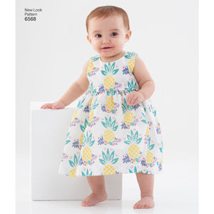 New Look 6568 sewing pattern.
