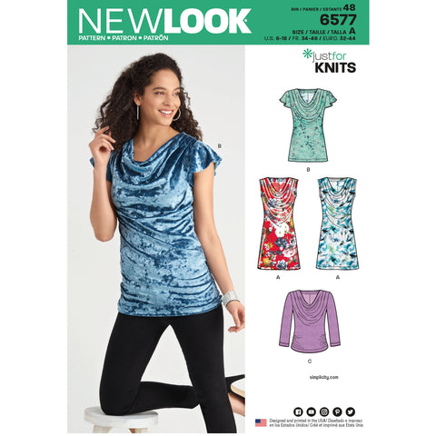 New Look 6577 sewing pattern.