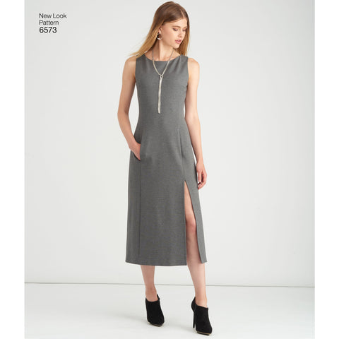 NL6573 Misses' Dress and Wrap sewing pattern