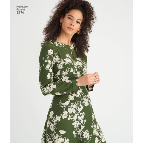 NL6574 Misses' Dresses sewing pattern
