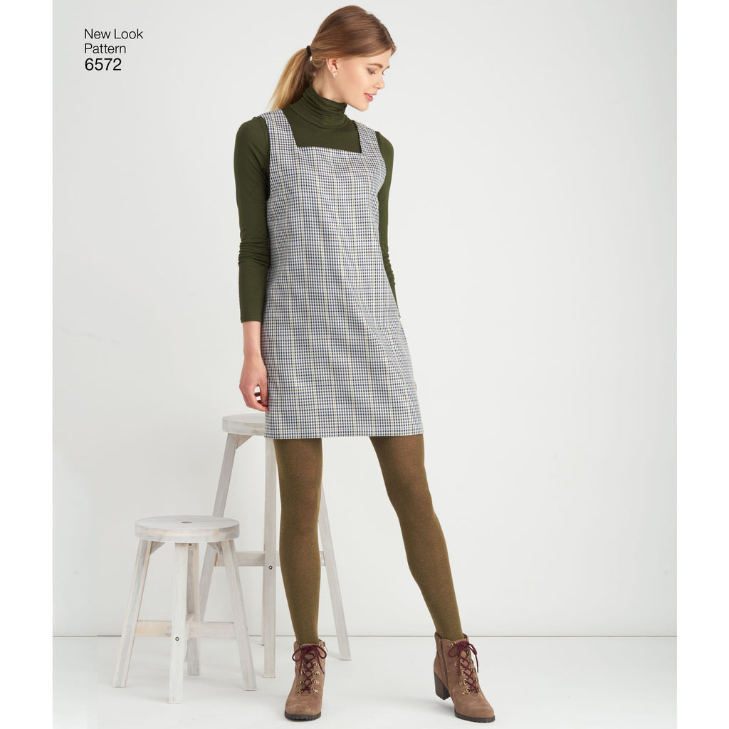 New Look 6572 sewing pattern.