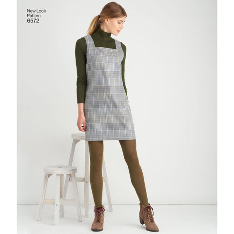 NL6572 Jumper Dress sewing pattern