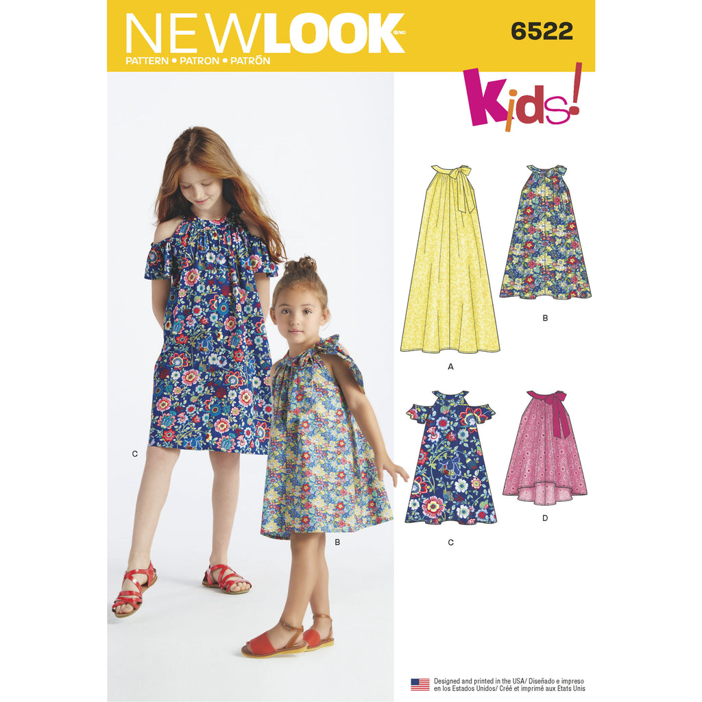 New Look 6522 Sewing Pattern.