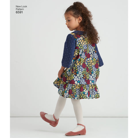 NL6591 Child's Dress sewing pattern