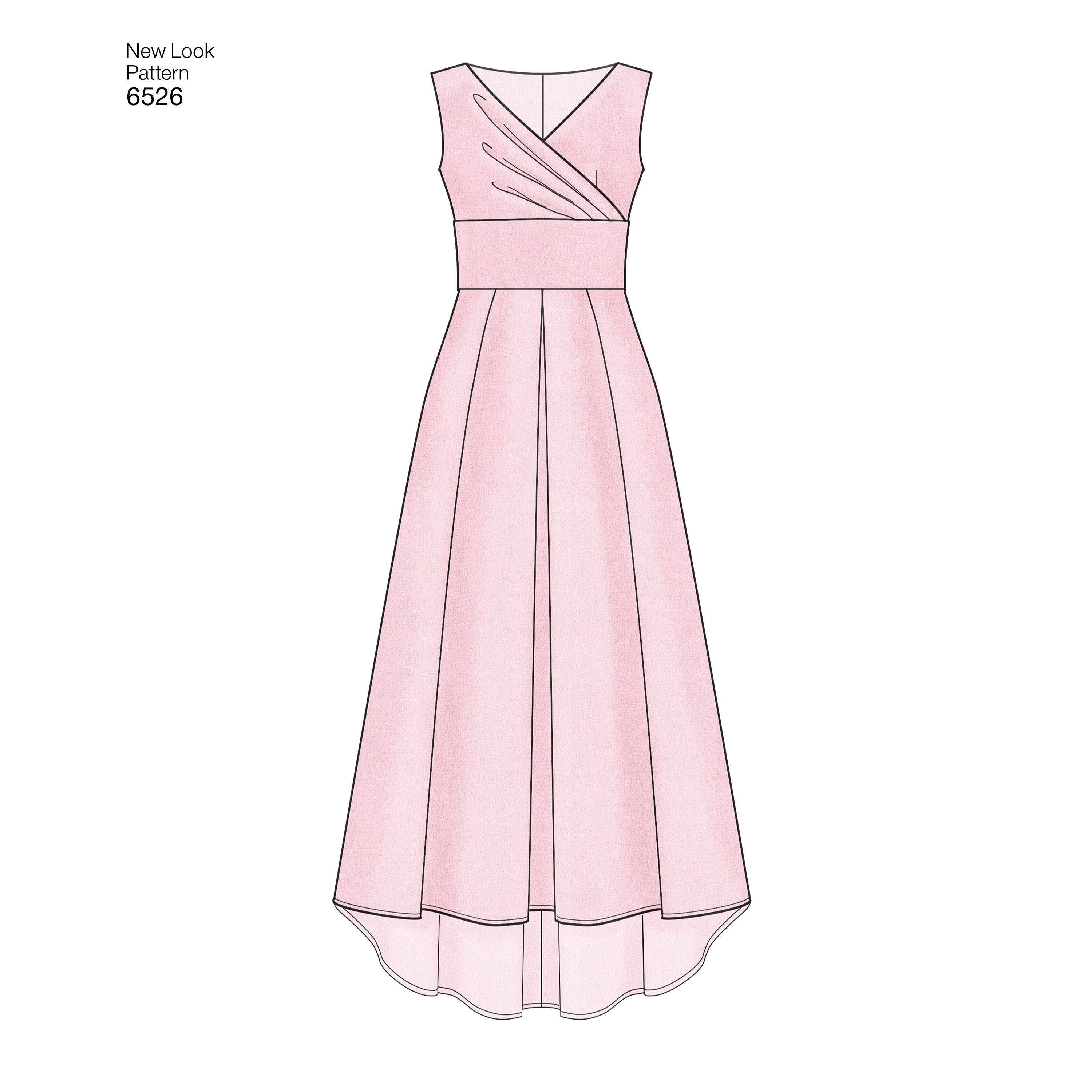NL6526 Women's Dress Pattern