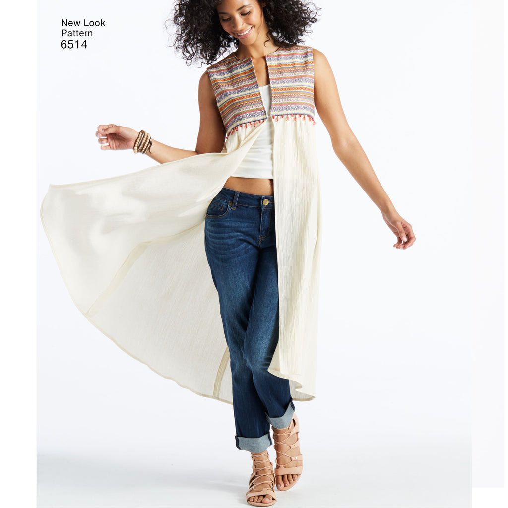 New Look 6515 Sewing Pattern.