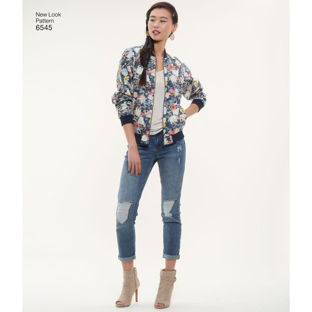 New Look 6545 sewing pattern