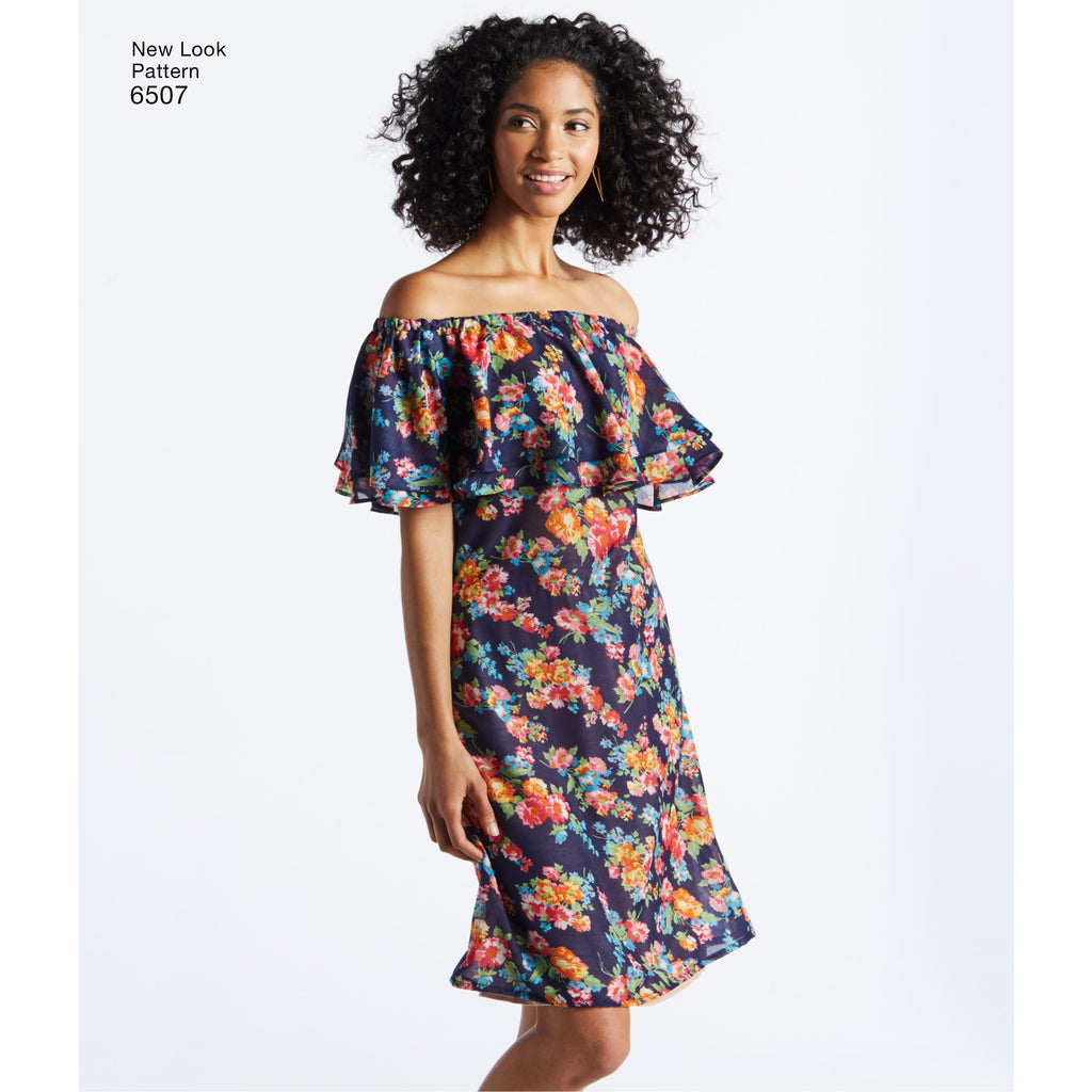 New Look 6507 Sewing Pattern.