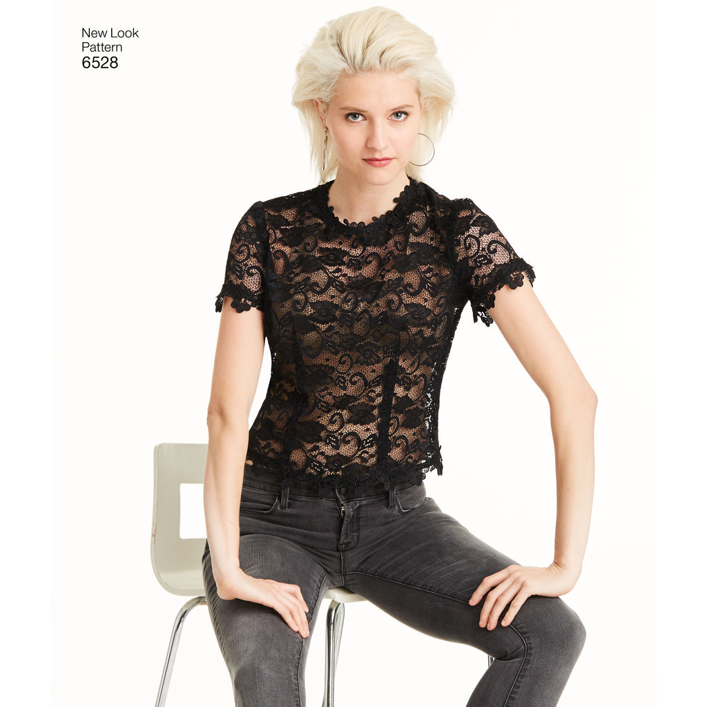 New Look 6528 sewing pattern.