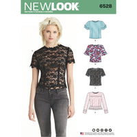 NL6528 Women's Tops Pattern