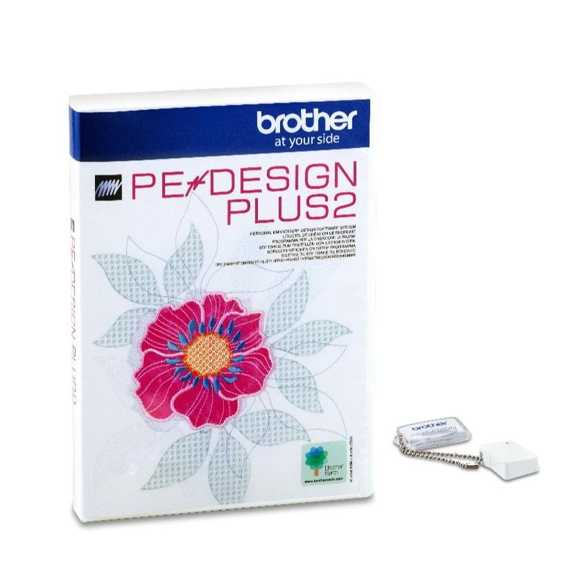 Brother Pe-Design Plus 2 software from Jaycotts Sewing Supplies