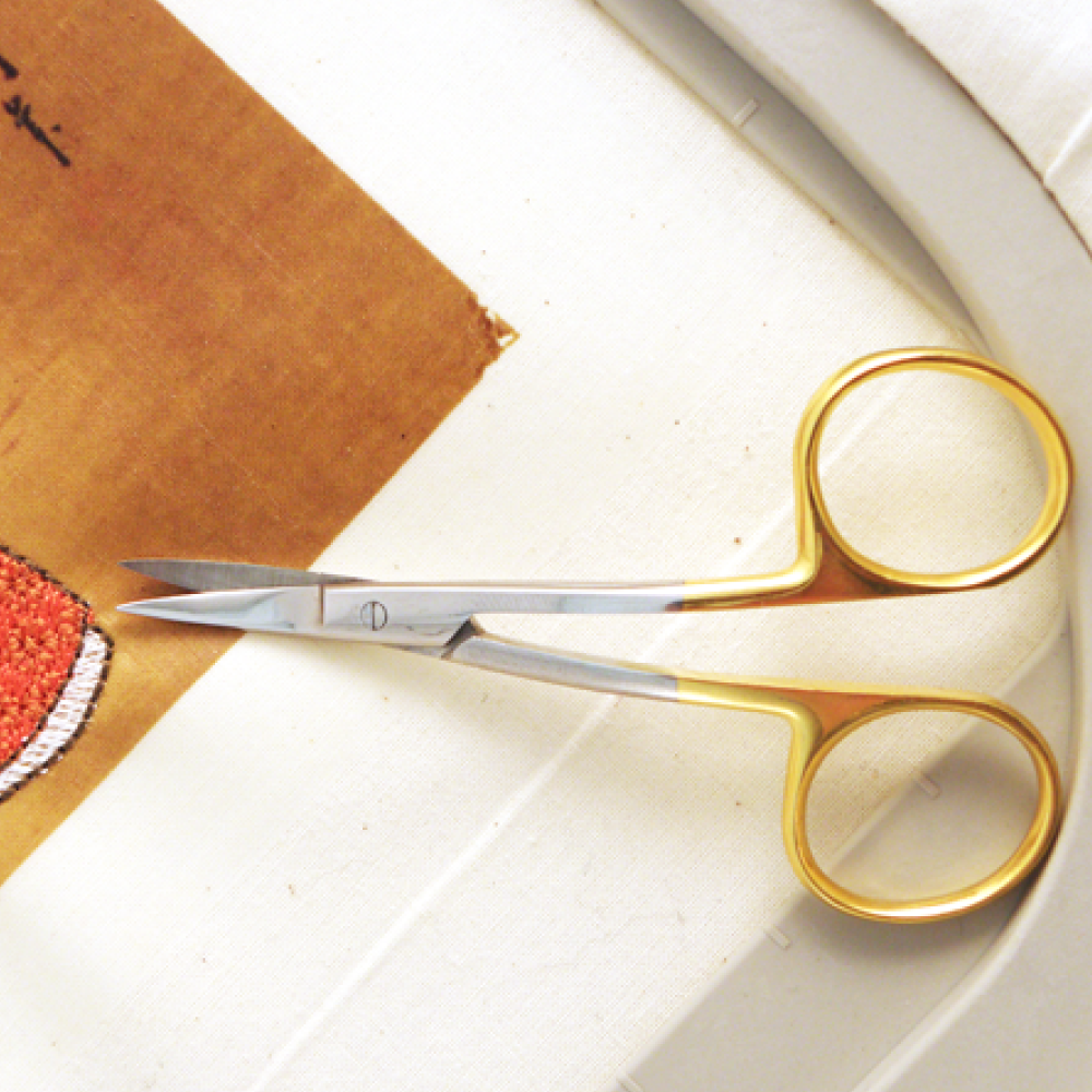 Double Curved Embroidery Scissors