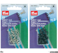 Prym Hook and Eyes | Packs of 12 from Jaycotts Sewing Supplies