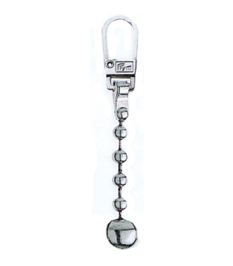 Zip Puller: Chain Ball from Jaycotts Sewing Supplies