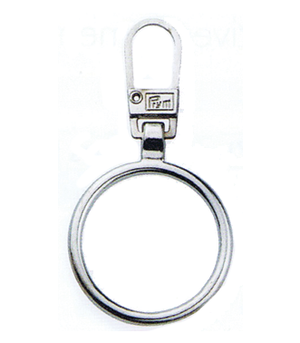 Zip Puller: Metal Ring from Jaycotts Sewing Supplies