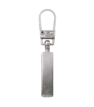 Zip Puller: Simple Metal from Jaycotts Sewing Supplies