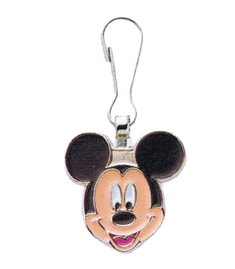 Zip Puller: Mickey Mouse Head
