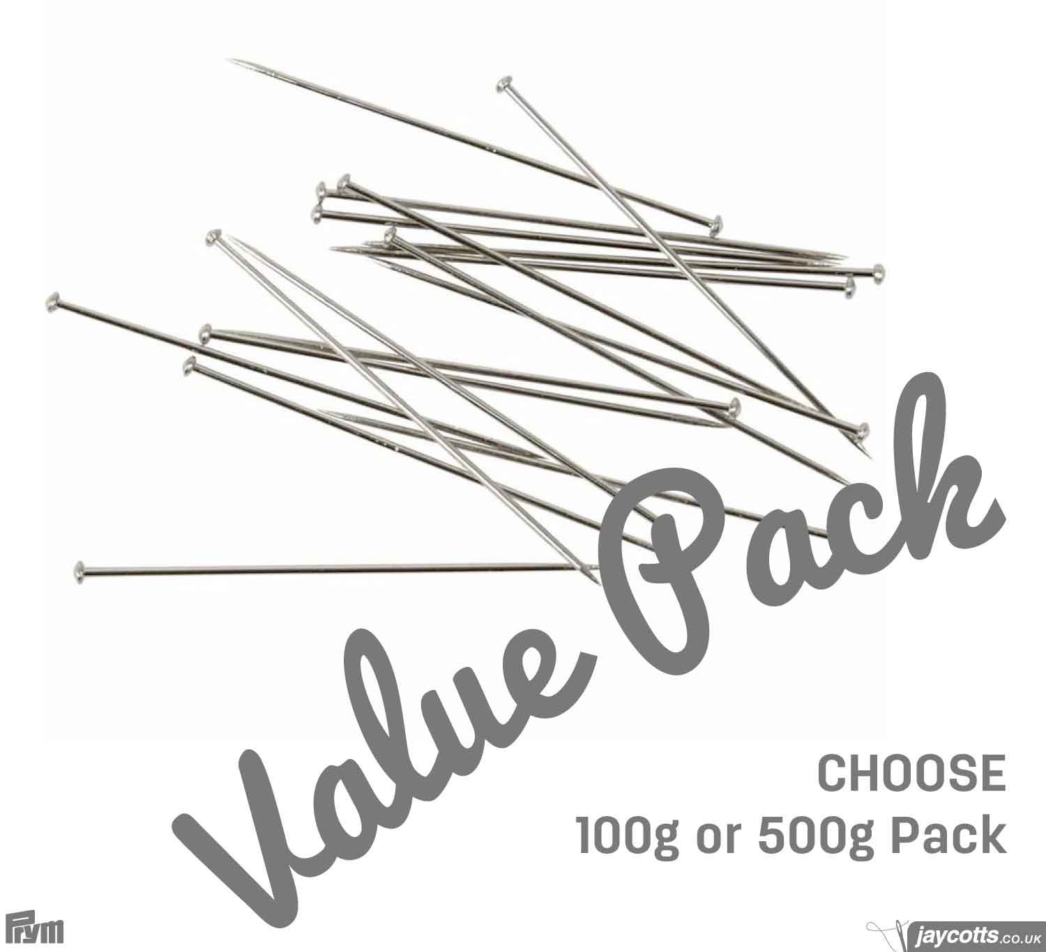 Straight Pins | BULK PACK