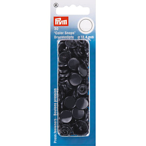 Prym Colour Snaps - Navy from Jaycotts Sewing Supplies