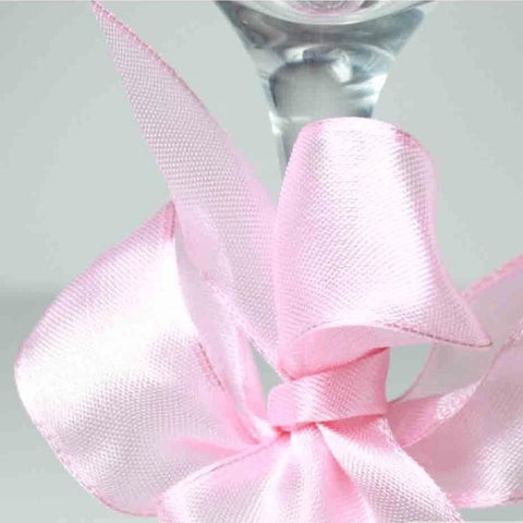 Wired Edge Organza Ribbon | Pink