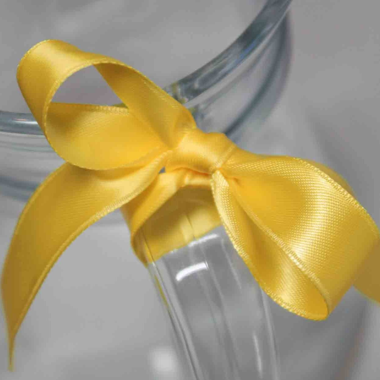 Breitenbach Satin Ribbon - Yellow Gold colour 15