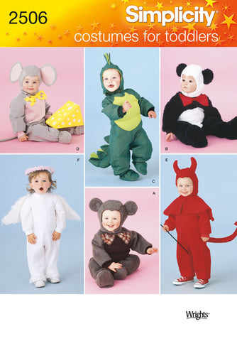 S2506 Toddler Animal Costumes