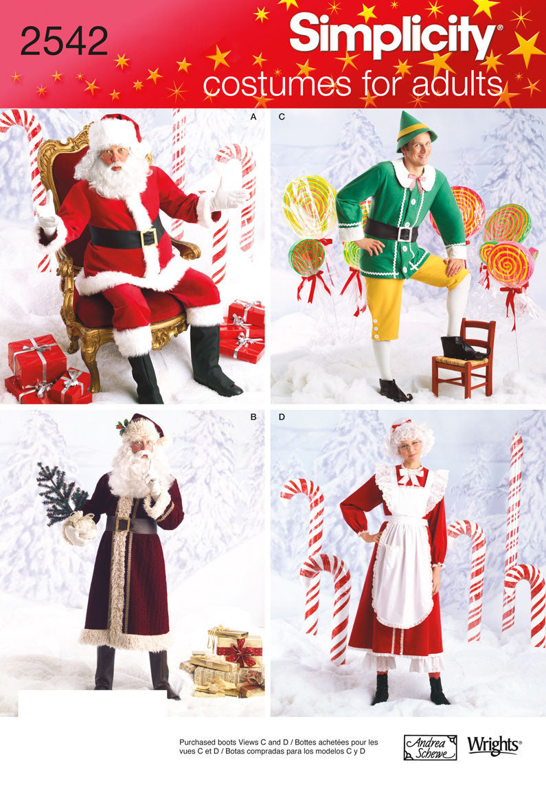 S2542 Adult Christmas Costumes | by Andrea Schewe