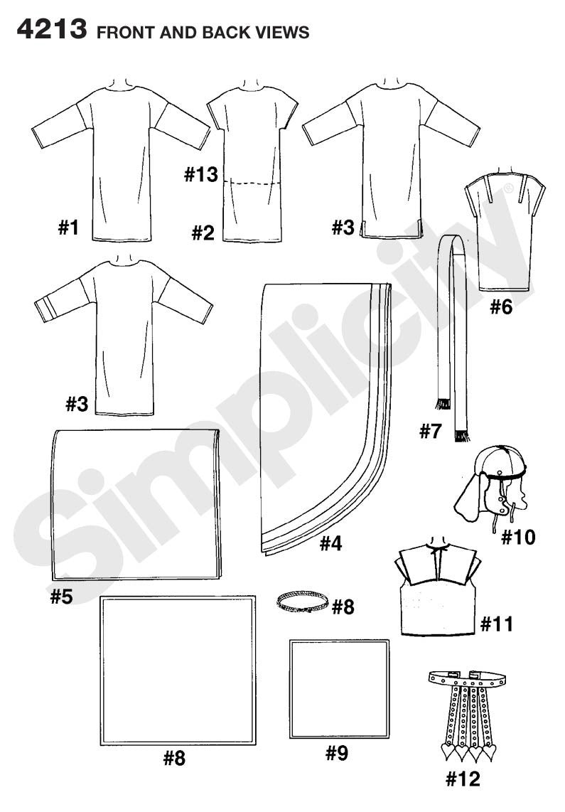 S4213 Adult Biblical Costumes | by Andrea Schewe