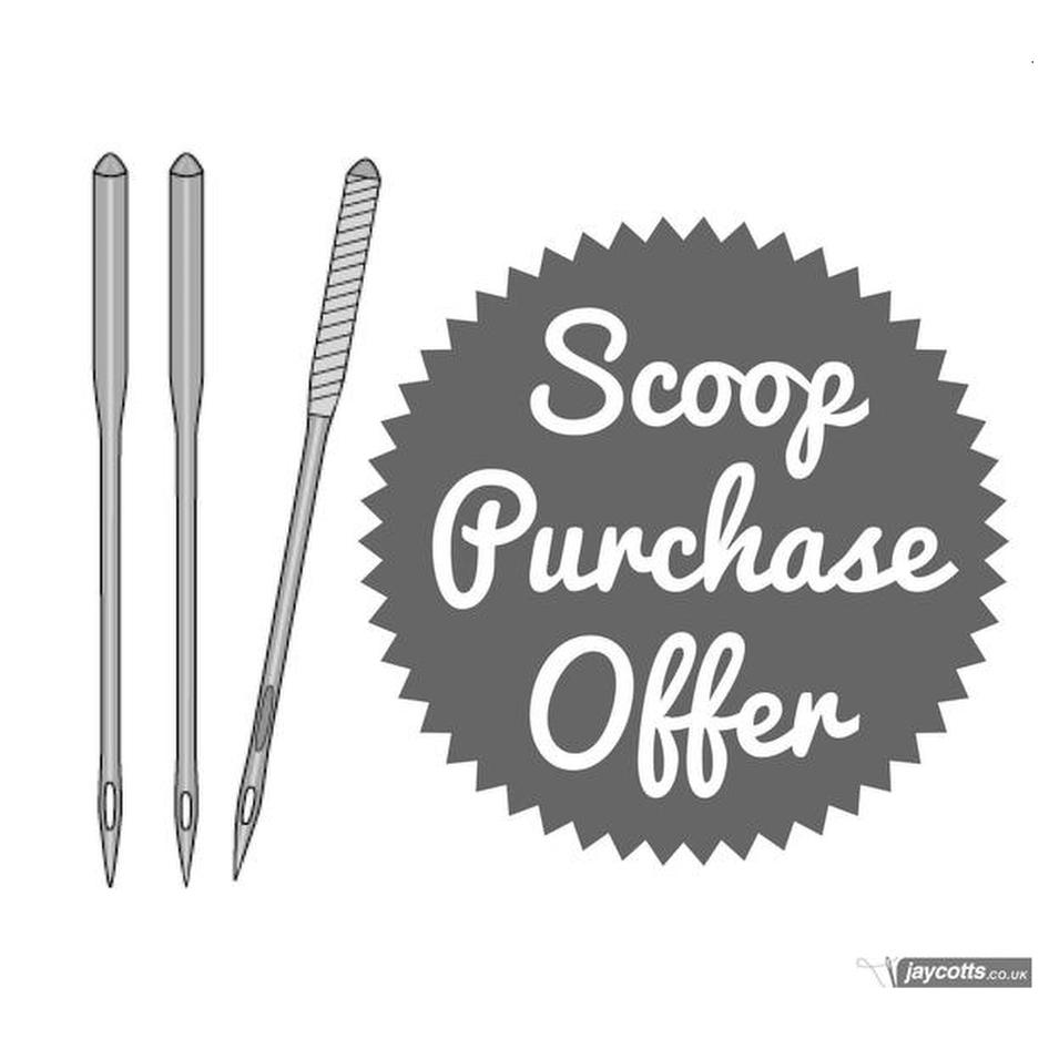 Universal Machine Needles ★ Scoop Purchase Offer ★