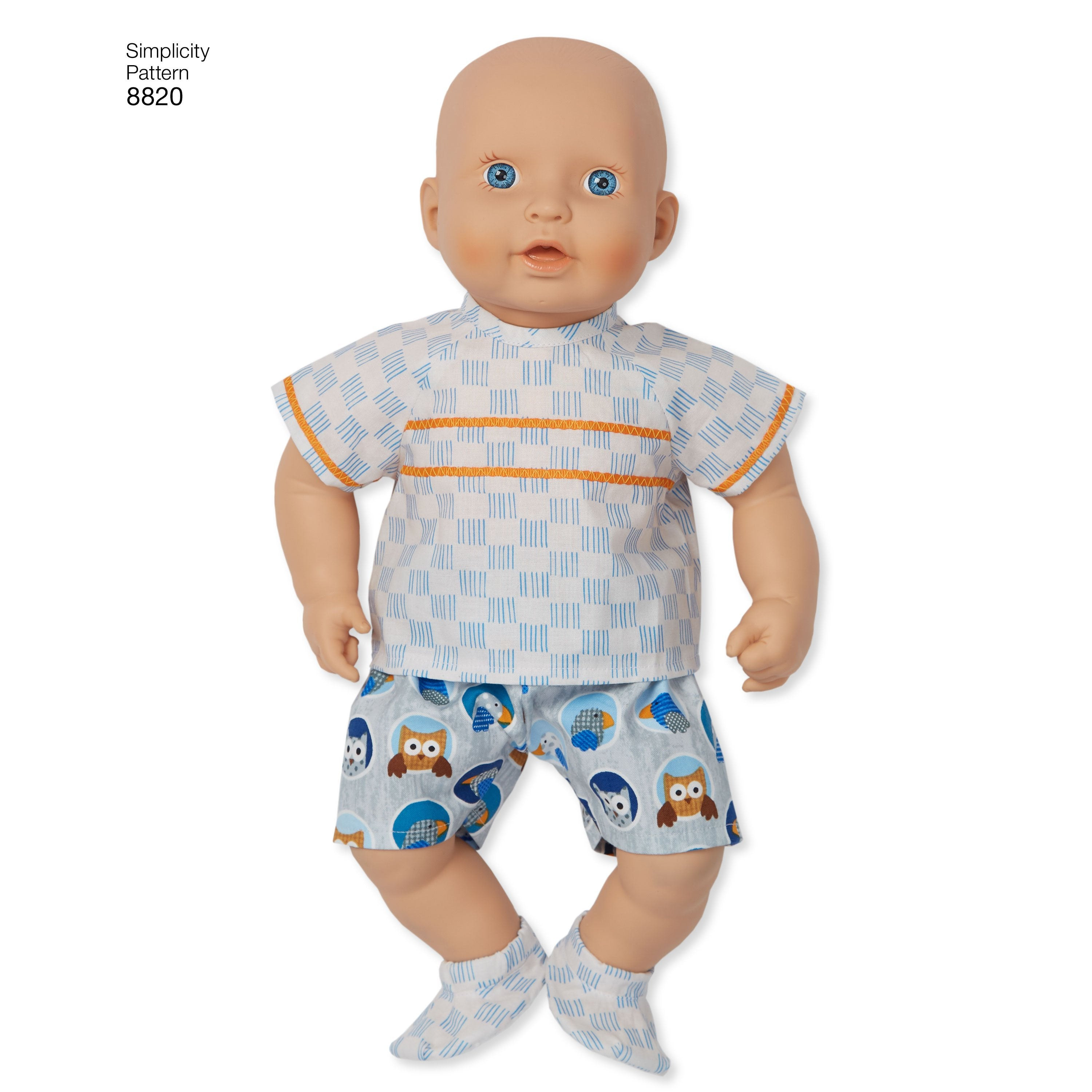 S8820 Baby Doll Clothes - 15 inch