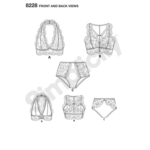 Sewing Patterns | Lingerie — jaycotts.co.uk - Sewing Supplies