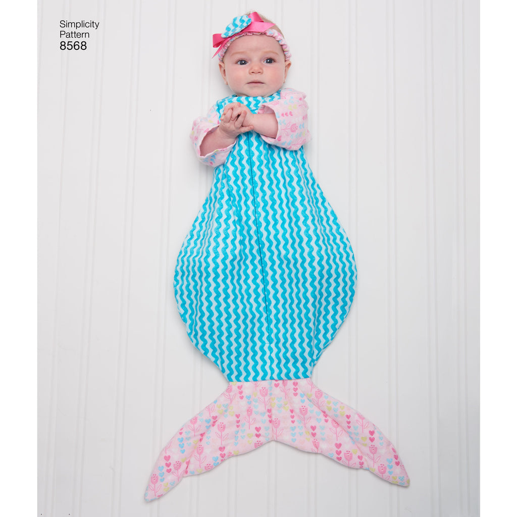 Simplicity Pattern 8568 baby accessories from Jaycotts Sewing Supplies