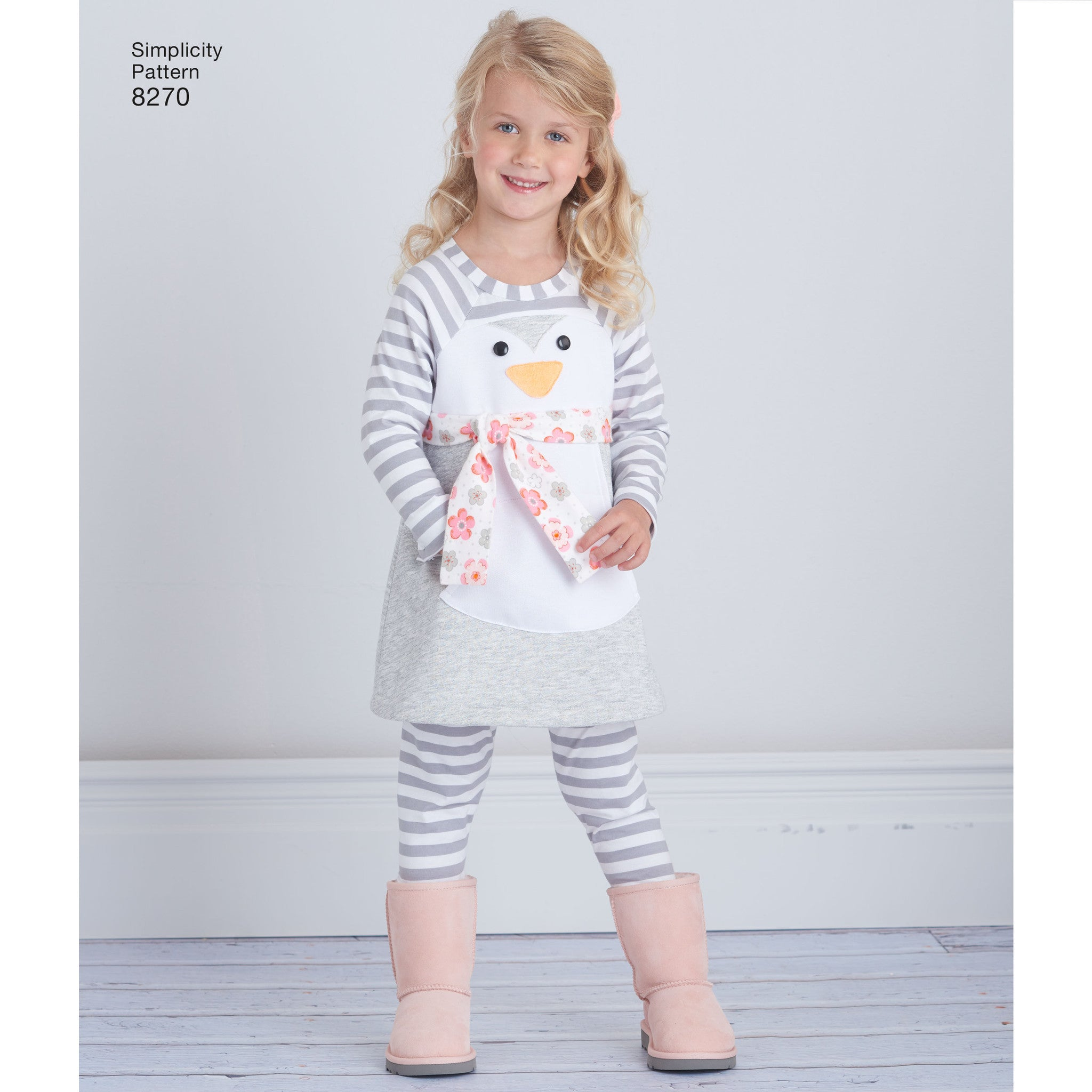 S8270 Toddlers' Knit Sportswear from Ruby Jean's Closet