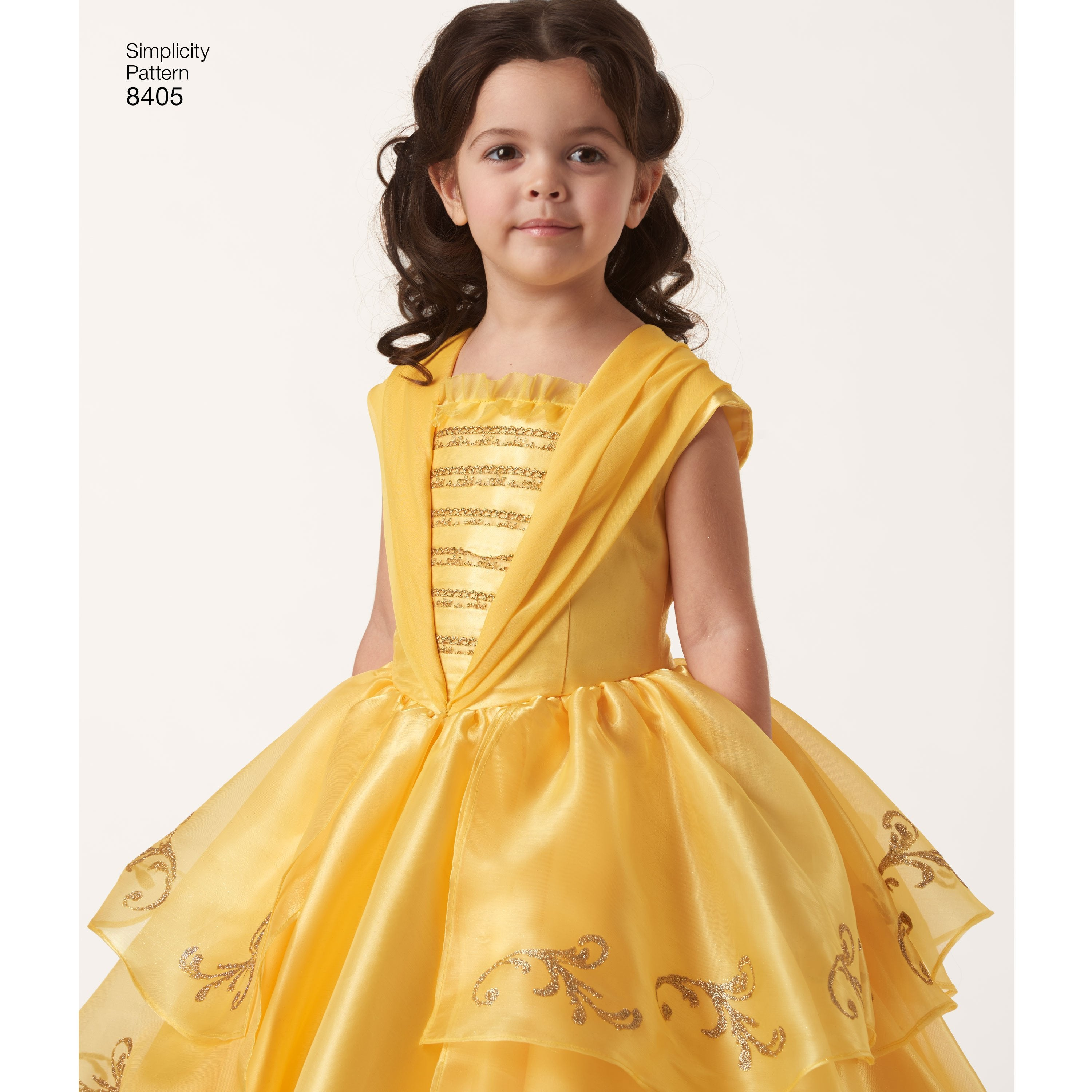 S8405 Disney Beauty and the Beast Costume Child and Doll