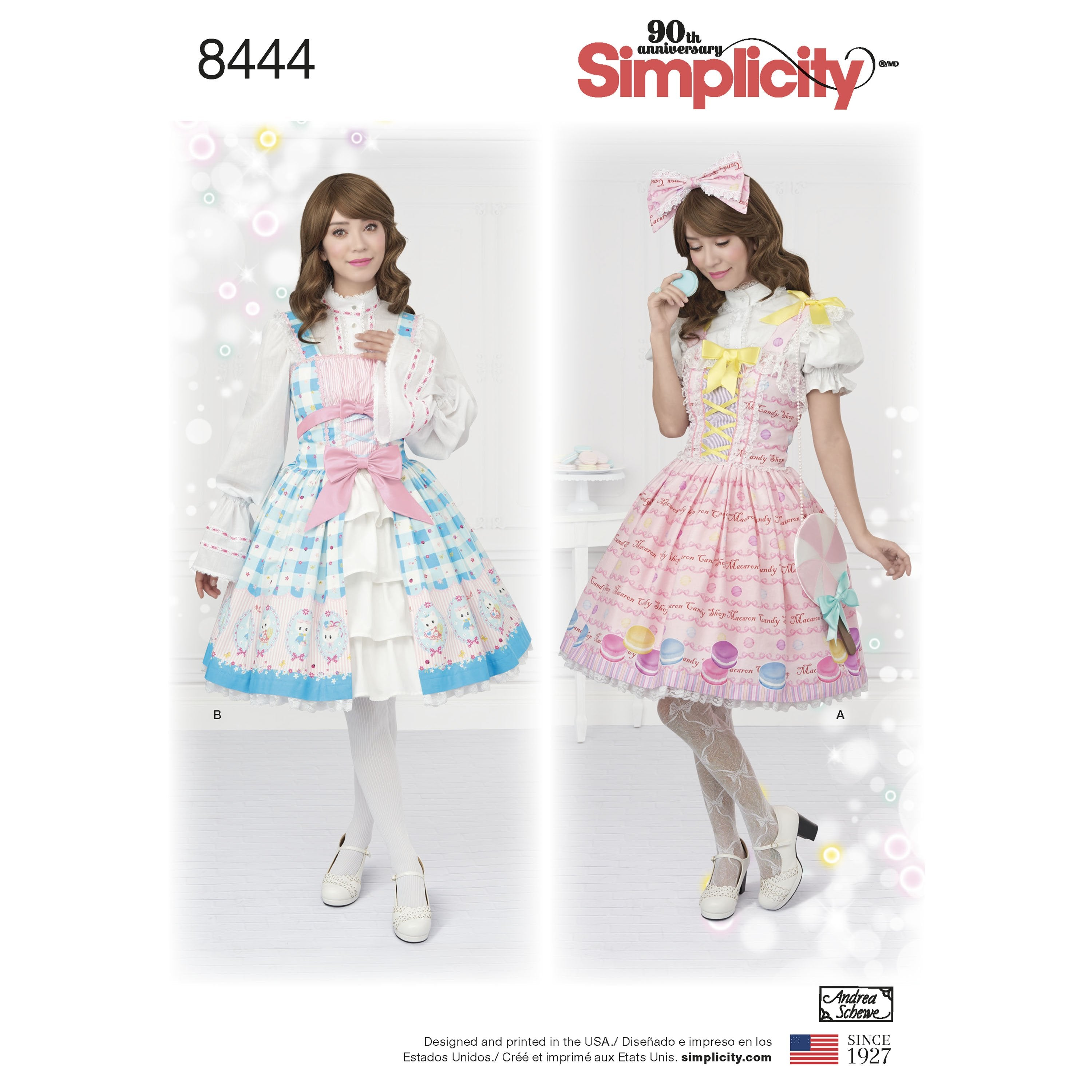 S8444 Misses Lolita Costume — jaycotts.co.uk - Sewing Supplies