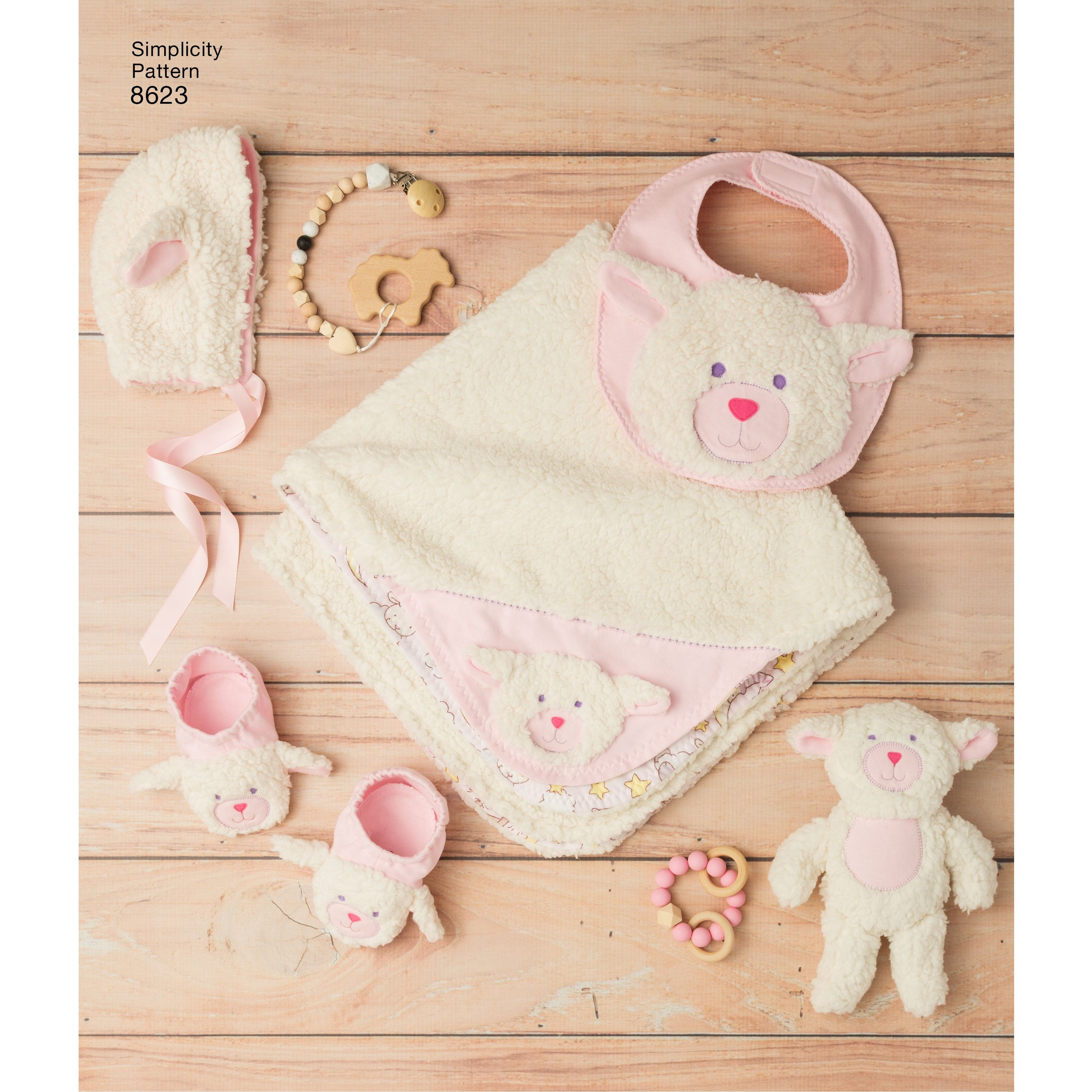 S8623 Sewing Pattern | Baby Accessories — jaycotts.co.uk - Sewing ...