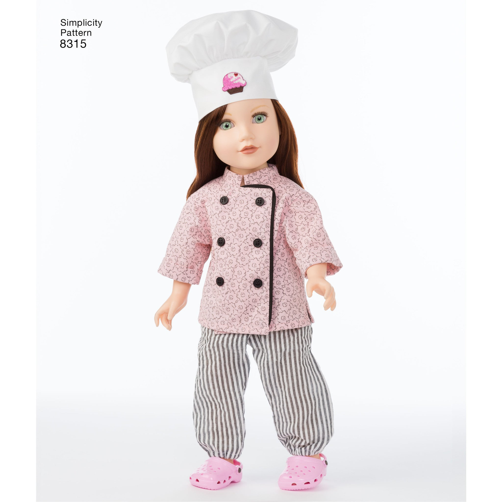 "S8315 18"" Chef Doll Clothes"