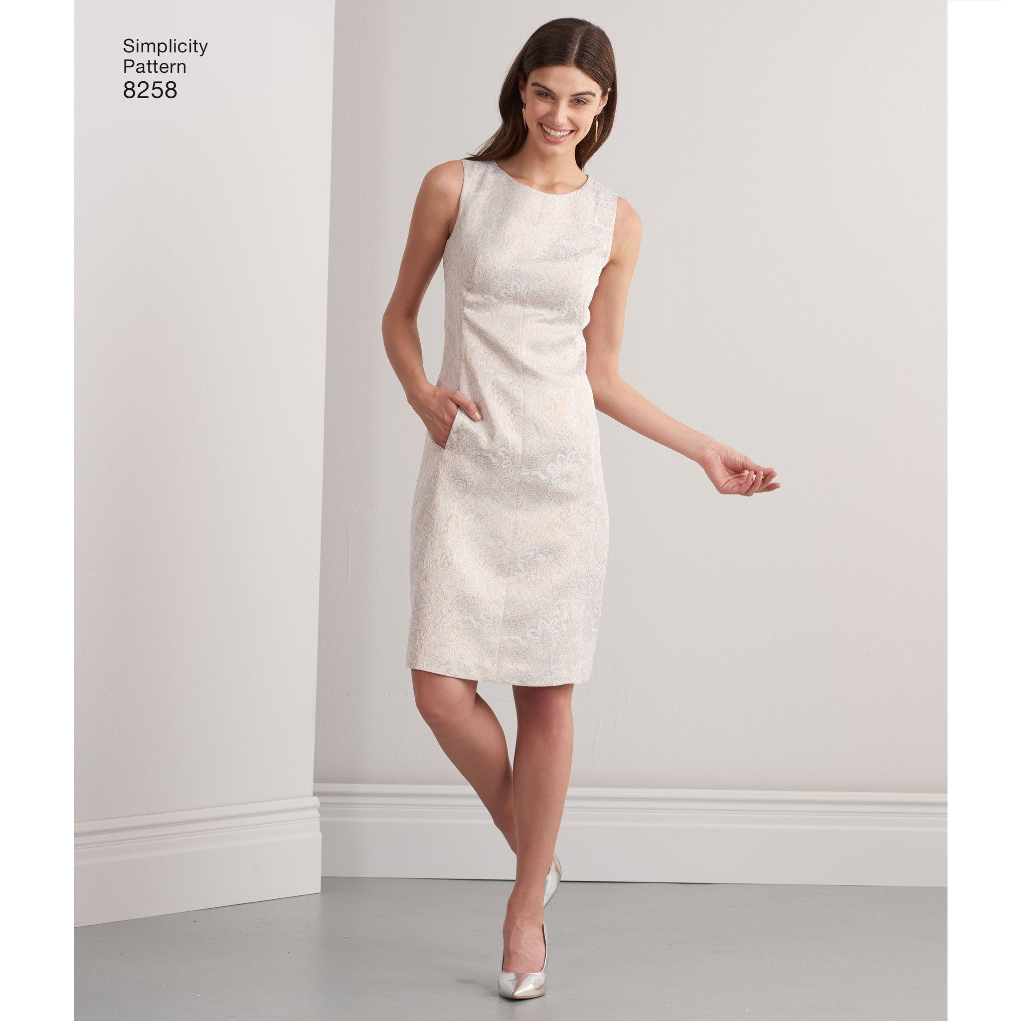 S8258 Misses\' and Plus Size Amazing Fit Dress Simplicity Pattern ...