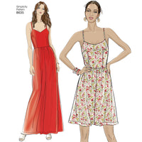 Simplicity Pattern 8635 dress, jumpsuit or romper