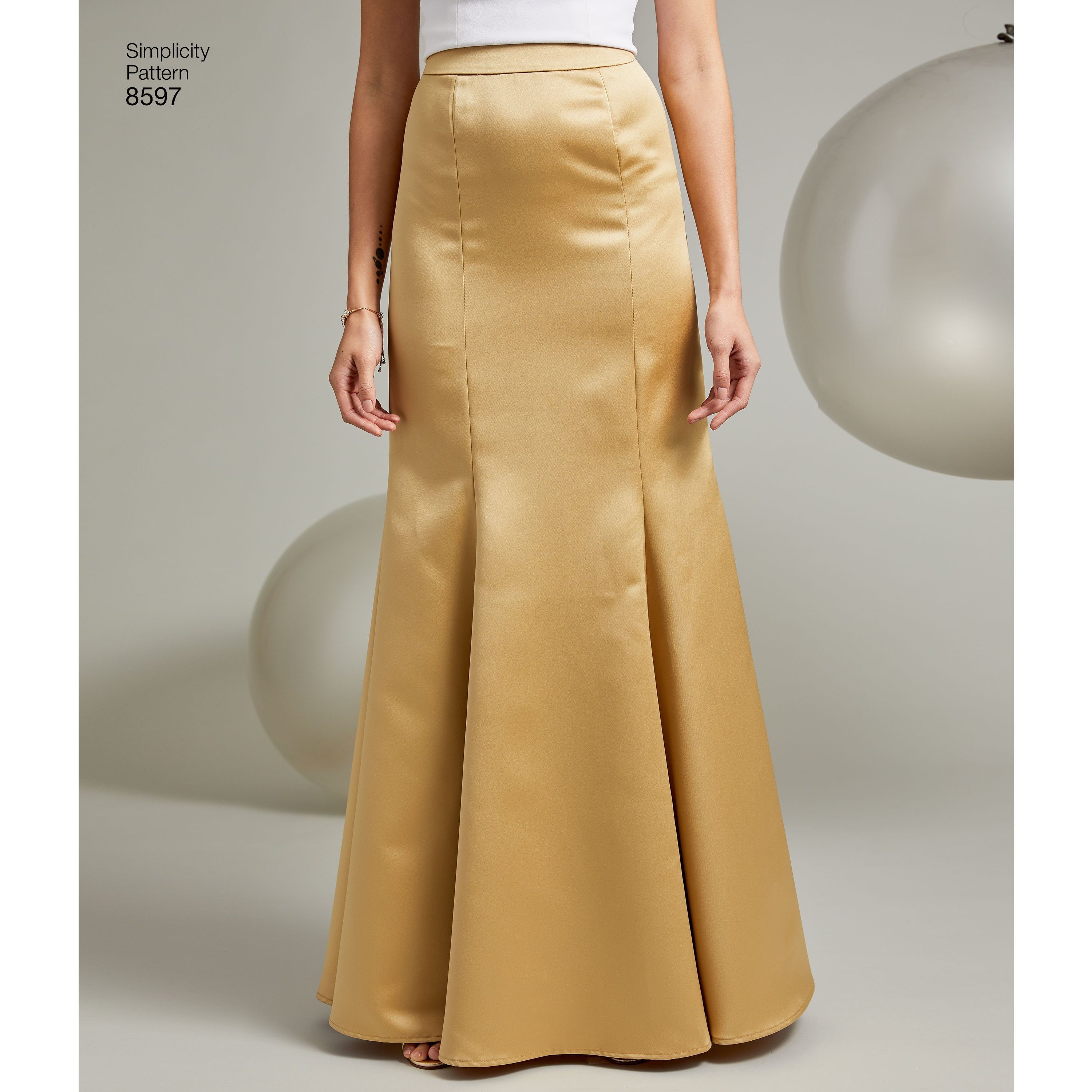 f812c4603ed4b2 S8597 Women s Special Occasion Skirts Patterns — jaycotts.co.uk ...