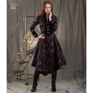 Simplicity Pattern 8769 costume-coats from Jaycotts Sewing Supplies