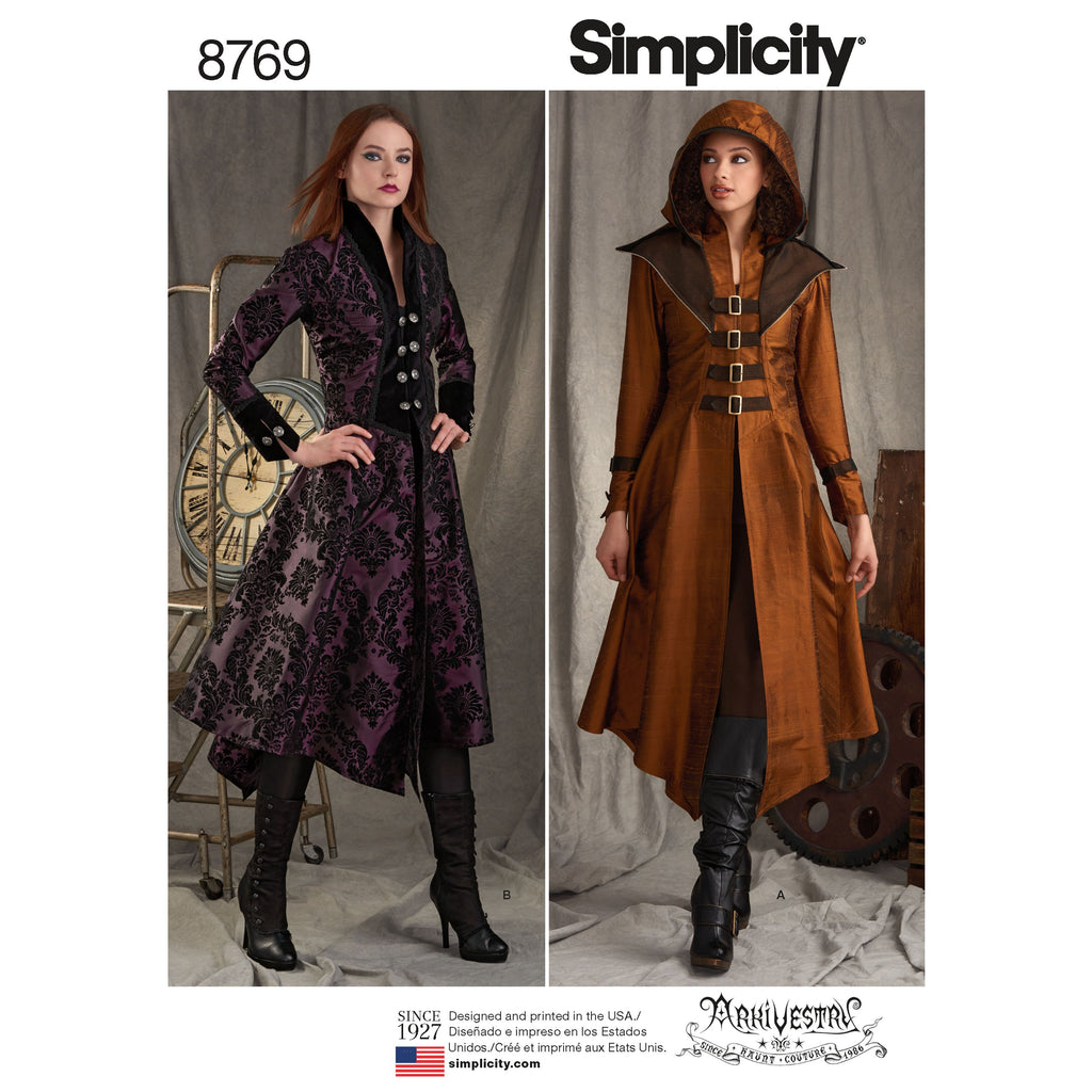 Simplicity Pattern 8769 costume-coats