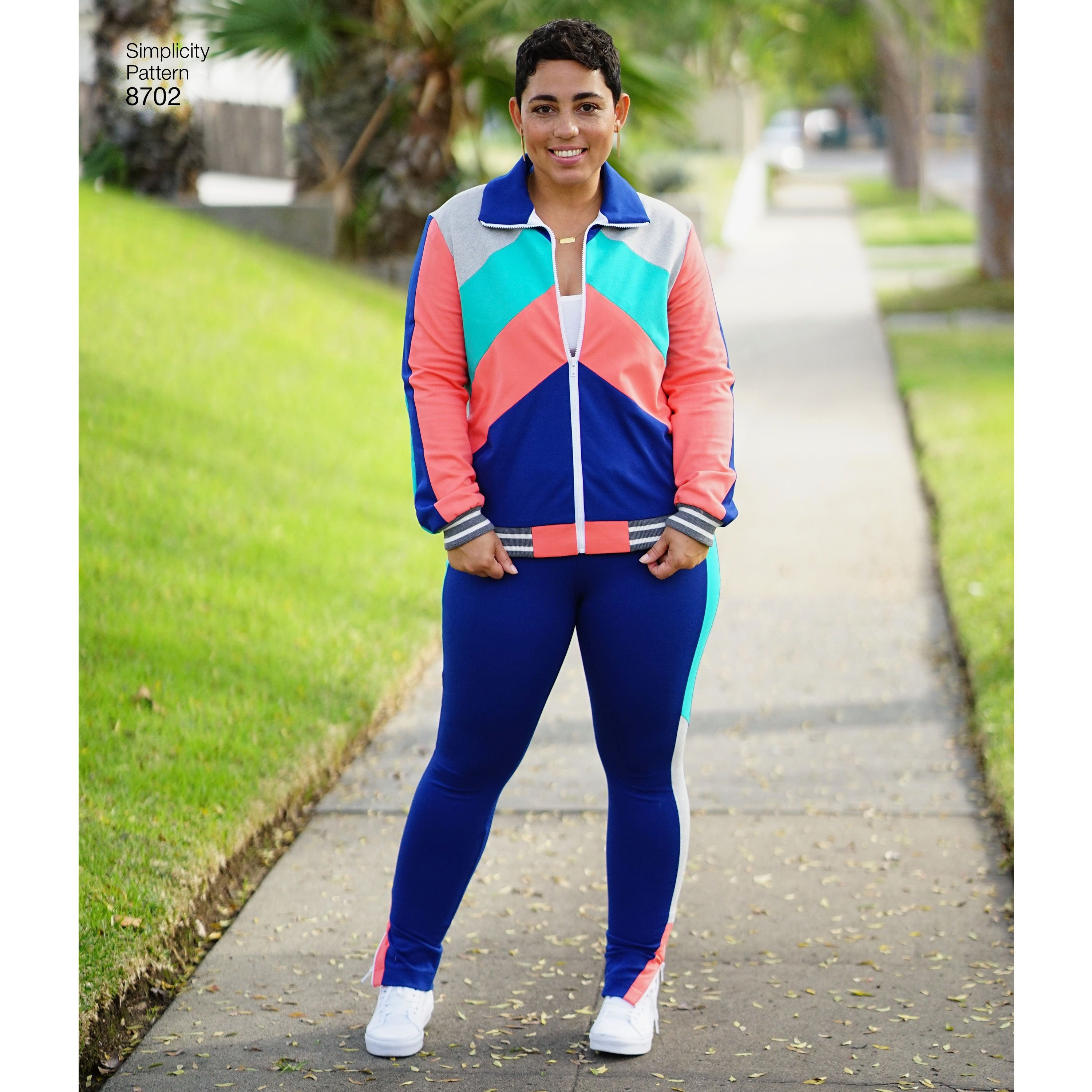 S8702 Mimi G Athleisure Sewing Pattern