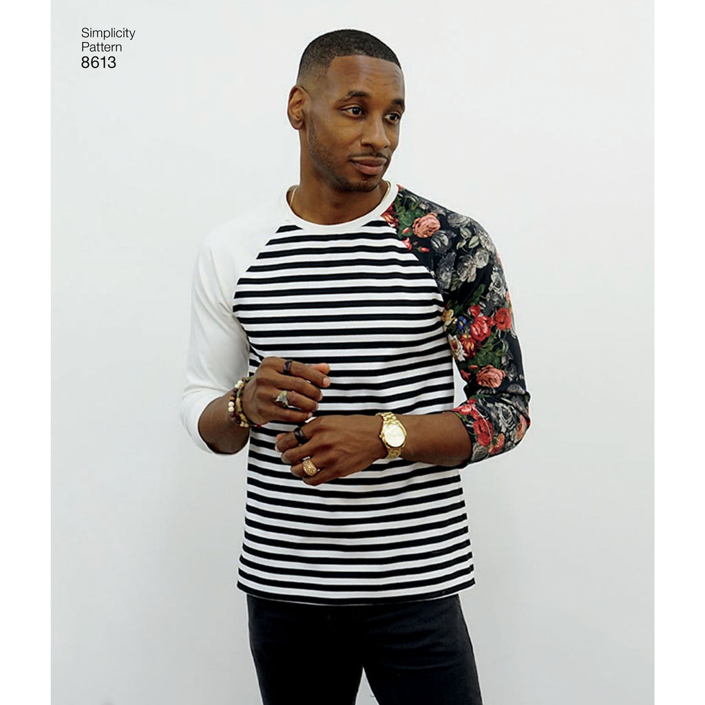 Simplicity Pattern 8613 Mens Top